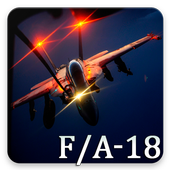 F/A-18 Hornet Pattern Lock & Backgrounds icon