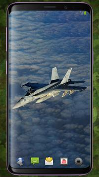 F/A-18 Hornet Pattern Lock & Backgrounds poster