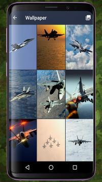 F/A-18 Hornet Pattern Lock & Backgrounds screenshot 1