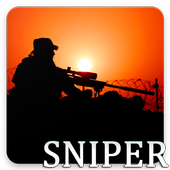 Sniper Pattern Lock & Backgrounds icon