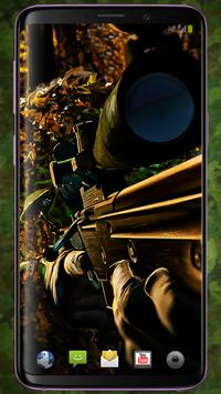 Sniper Pattern Lock & Backgrounds poster
