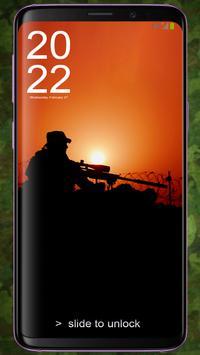 Sniper Pattern Lock & Backgrounds screenshot 2