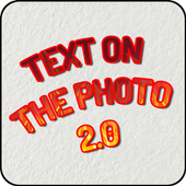 Text on the picture 2.0 icon