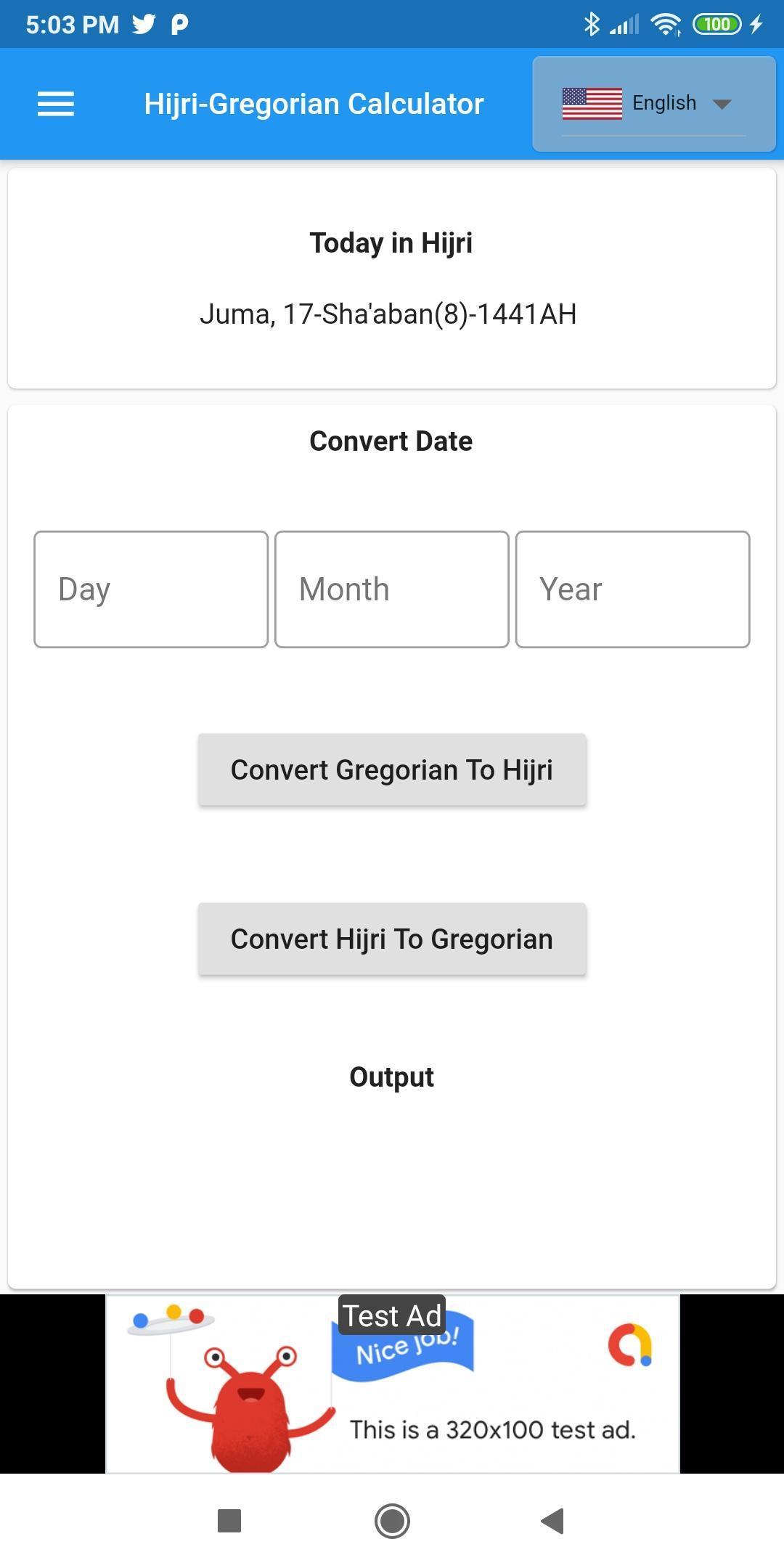 حاسبة التاريخ الهجري For Android Apk Download