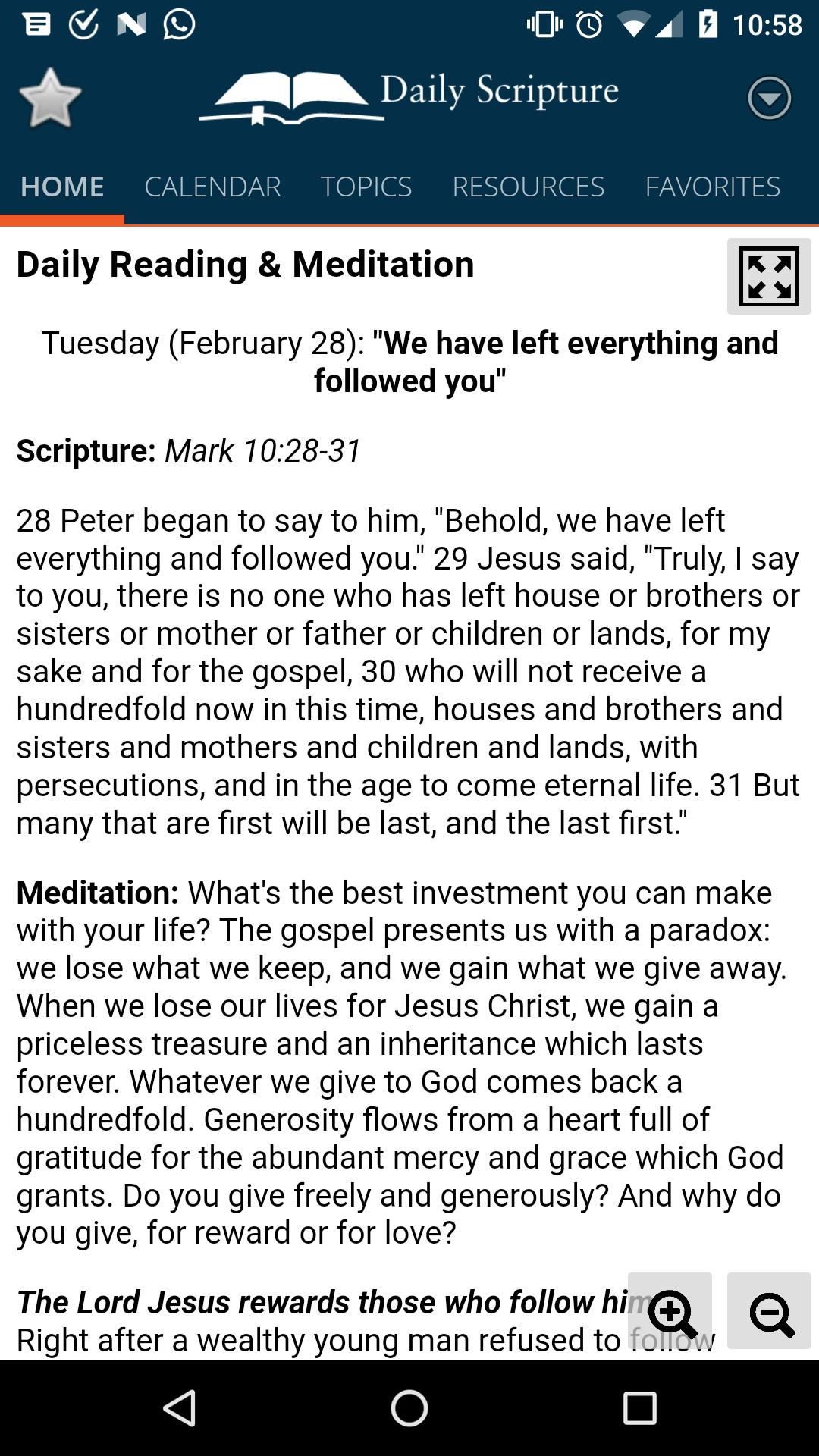 Daily Scripture for Android - APK Download