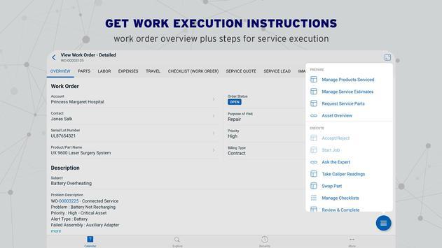 ServiceMax Go ảnh chụp màn hình 8
