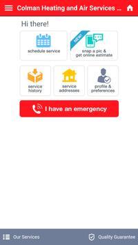 Colman Heating & Air Services, Inc. screenshot 2