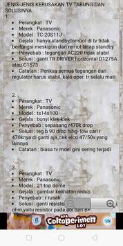 Servis TV terlengkap screenshot 13