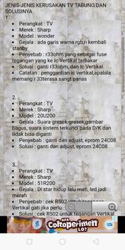 Servis TV terlengkap screenshot 22