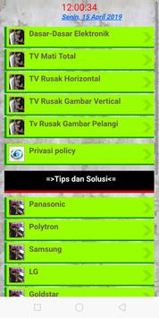 Servis TV terlengkap screenshot 9