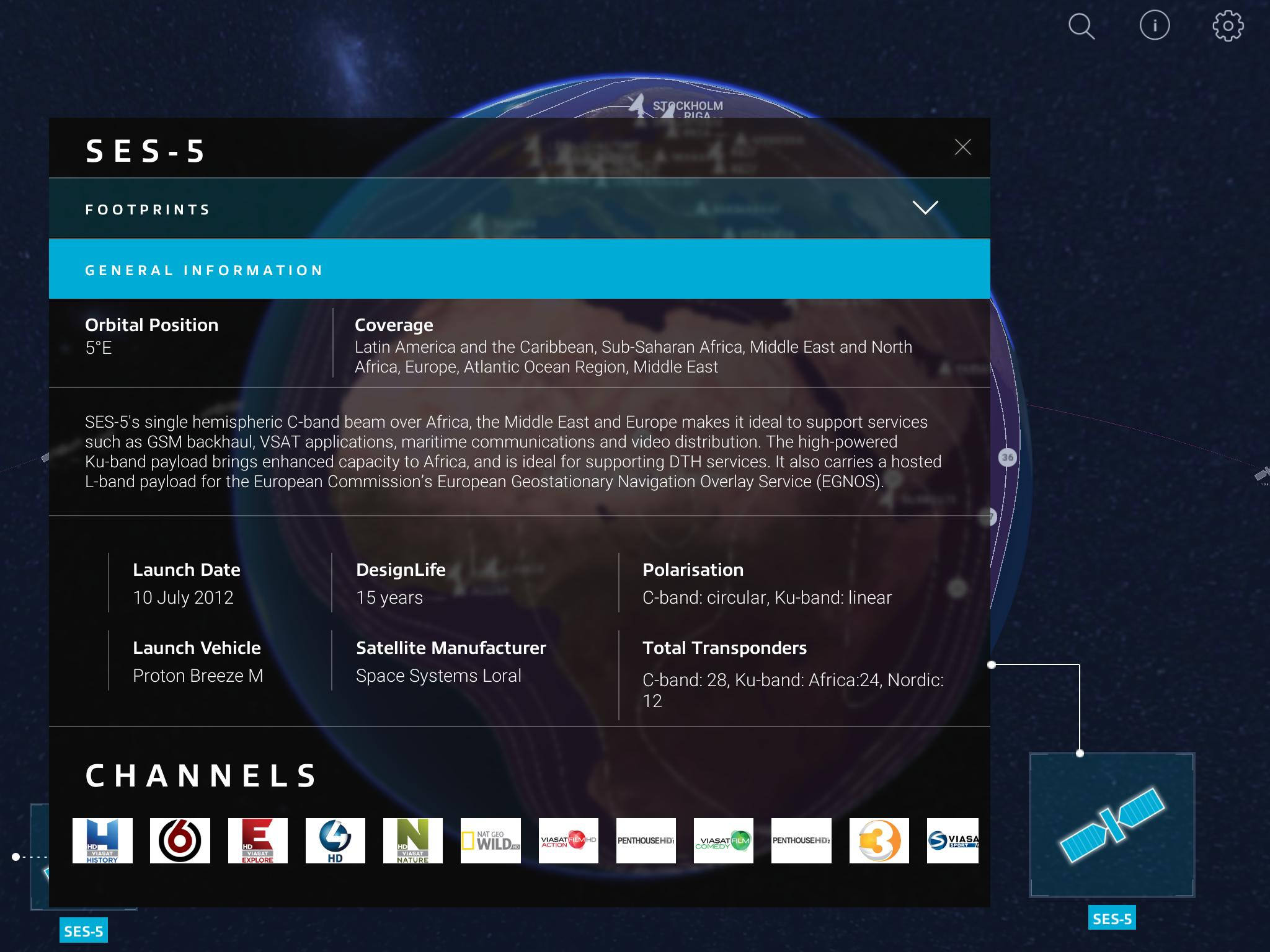 SES Satellites for Android - APK Download