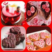 valentine cake ideas icon