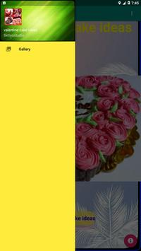 valentine cake ideas poster