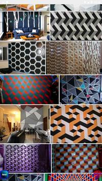 3-dimensional wall ideas screenshot 12