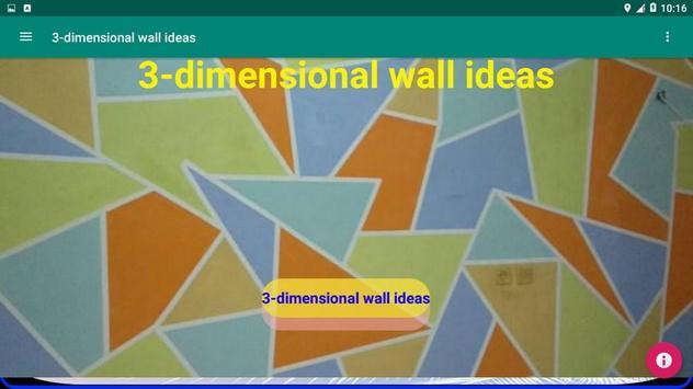 3-dimensional wall ideas screenshot 14