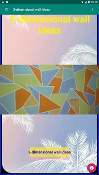 3-dimensional wall ideas screenshot 1