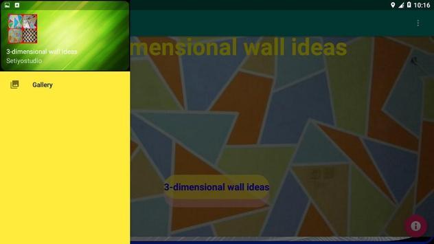 3-dimensional wall ideas screenshot 7