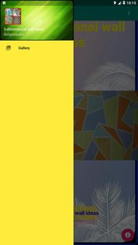 3-dimensional wall ideas screenshot 8