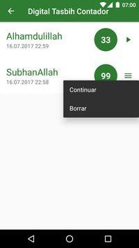 Musulmán Tasbih - Dhikr captura de pantalla 3
