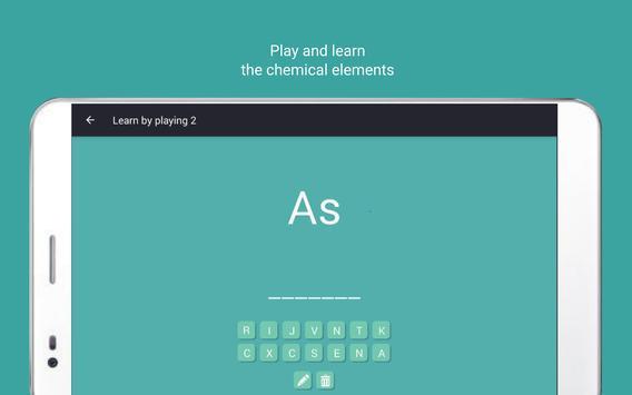 Periodic table Tamode Pro screenshot 11