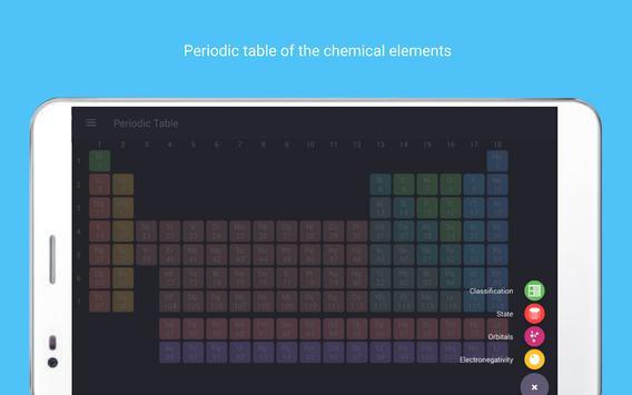 Periodic table Tamode Pro screenshot 12