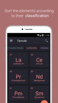 Periodic table Tamode Pro screenshot 1