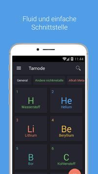 Periodensystem Tamode Pro Plakat