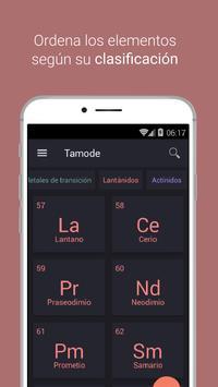Tabla Periódica Tamode Pro captura de pantalla 1