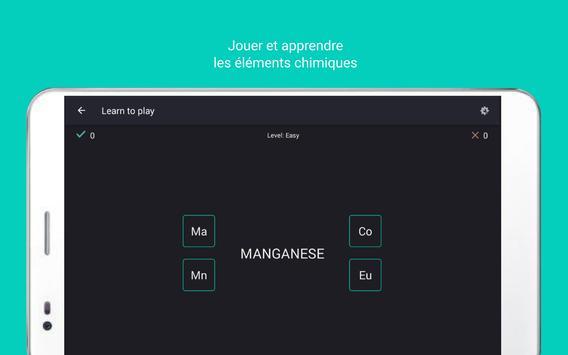 Tableau périodique Tamode Pro capture d'écran 10