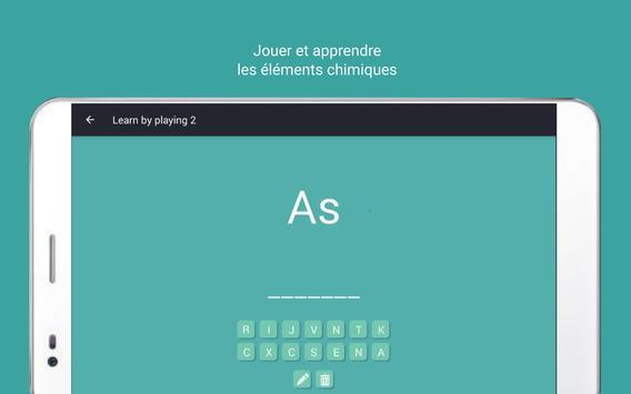 Tableau périodique Tamode Pro capture d'écran 11