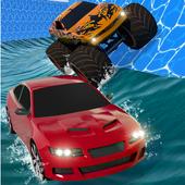 Aqua Cars Uphill Water Slide Rally 3D icon