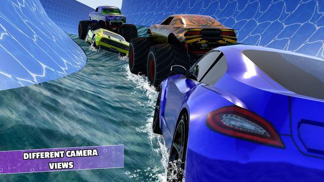 Aqua Cars Uphill Water Slide Rally 3D screenshot 4