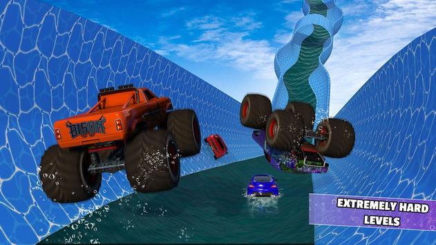Aqua Cars Uphill Water Slide Rally 3D screenshot 2