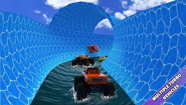 Aqua Cars Uphill Water Slide Rally 3D screenshot 3