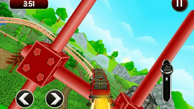 Roller Coaster Simulator HD screenshot 9