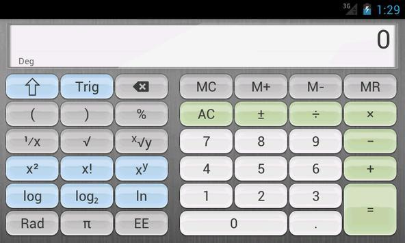 Calculator syot layar 2