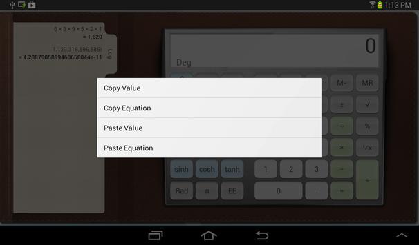 Calculator syot layar 7