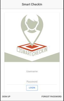 SmartCheckIn poster