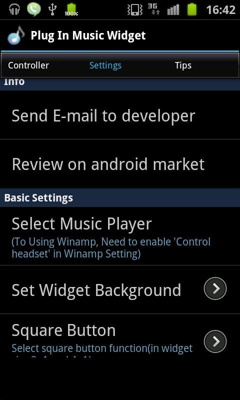 Plug In Music Widget for Android - APK Download