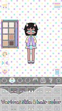 Pastel Girl captura de pantalla 6