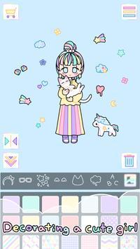Pastel Girl captura de pantalla 1