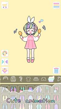 Pastel Girl captura de pantalla 3