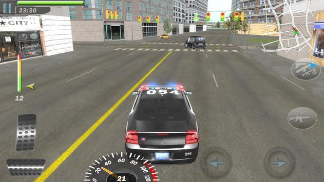 Mad Cop3 Police Car Race Drift screenshot 6