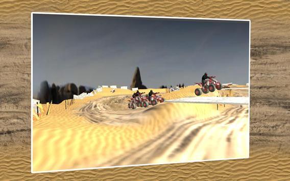 Quad Bike Race Desert Offroad screenshot 3