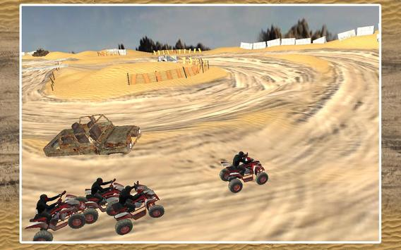Quad Bike Race Desert Offroad screenshot 4