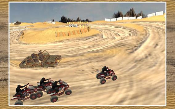 Quad Bike Race Desert Offroad screenshot 9
