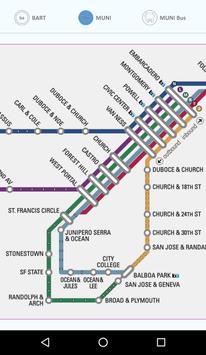 SF Metro Maps - BART + MUNI screenshot 1