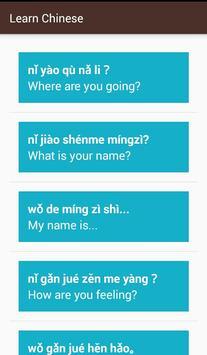 Learn Basic Chinese screenshot 2