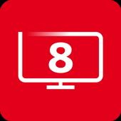 SFR TV 8 icône
