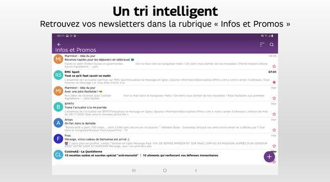 SFR Mail capture d'écran 6